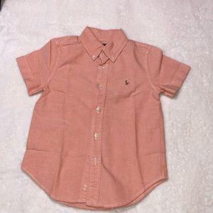 Polo Ralph Lauren Boys Oxford Shirt Short Sleeve